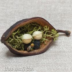 Miniature Handmade Nativity Set 9