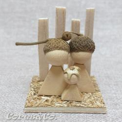 Miniature Handmade Nativity Set 11
