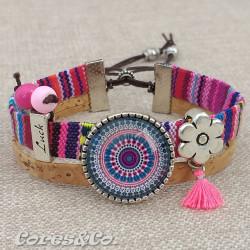 M Mandala Luck Adjustable Bracelet