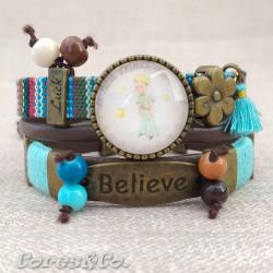 M Mandala Little Prince Adjustable Bracelet