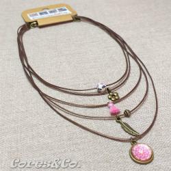 5 Layer Short Necklace Mandala