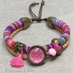 XS Mandala Double Adjustable Bracelet