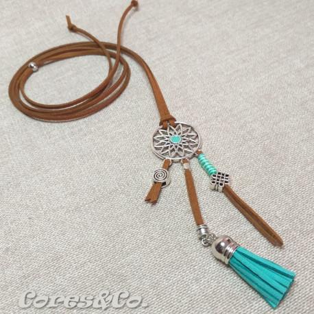 Long Adjustable Dreamcatcher Necklace