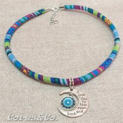 Moon & Mandala Ethnic Necklace