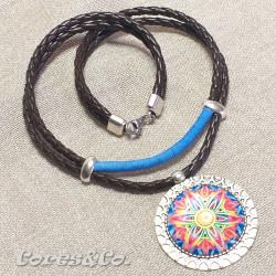 Mandala Double Necklace