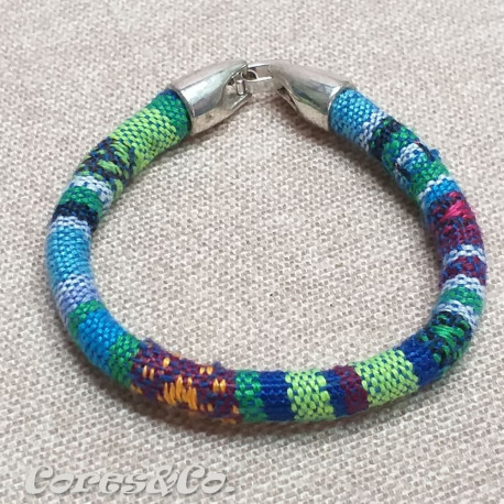 Blue Simple Ethnic Bracelet
