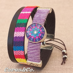XS Mandala Wide Adjustable Bracelet