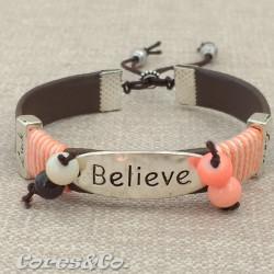 Believe Adjustable Bracelet