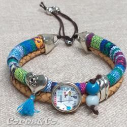 Portugal XS Mandala Double Adjustable Bracelet