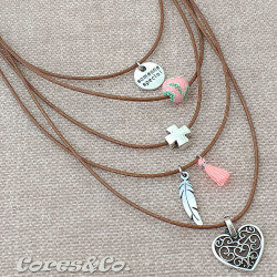 """5 Layer Short Necklace """"Someone Special"""""""