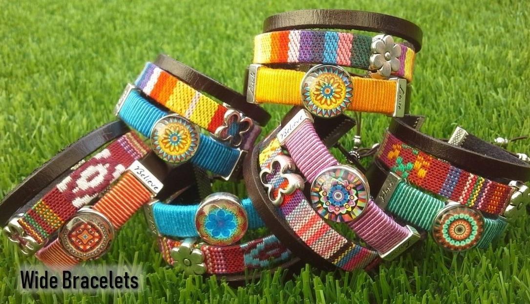 Wide Bracelets